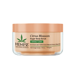 Citrus Blossom Herbal Sugar Body Scrub / Cкраб для тела Лимон