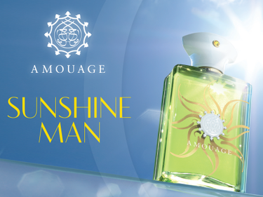 Новый аромат Sunshine Man от Amouage
